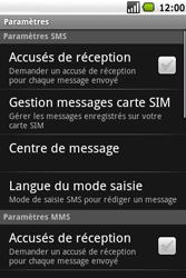 Samsung I5700 Galaxy Spica - SMS - Configuration manuelle - Étape 5