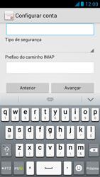 Huawei Ascend G510 - Email - Como configurar seu celular para receber e enviar e-mails - Etapa 11