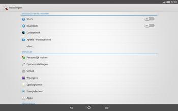 Sony Xperia Tablet Z2 4G (SGP521) - Internet - Uitzetten - Stap 4