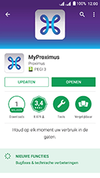 Acer Liquid Z6 Dual SIM - Applicaties - MyProximus - Stap 7