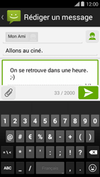 Bouygues Telecom Ultym 5 II - Contact, Appels, SMS/MMS - Envoyer un MMS - Étape 12