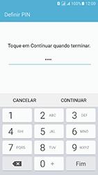 Samsung Galaxy J5 (2016) DualSim (J510) - Segurança - Como ativar o código de bloqueio do ecrã -  8