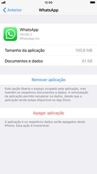 Apple iPhone 8 Plus - Aplicações - Desinstalar/remover aplicação -  6