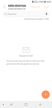 Samsung Galaxy J6 - E-mails - Ajouter ou modifier votre compte Outlook - Étape 12