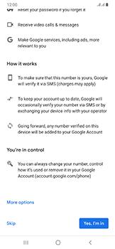 Samsung Galaxy A50 - Applications - Create an account - Step 14