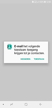 Samsung galaxy-j6-sm-j600fn-ds - E-mail - Account instellen (POP3 met SMTP-verificatie) - Stap 5