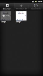 Sony LT26i Xperia S - Internet - internetten - Stap 7