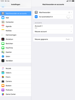 Apple ipad-air-2-ios-12 - E-mail - Account instellen (POP3 met SMTP-verificatie) - Stap 25