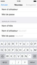 Apple iPhone 5 - E-mails - Ajouter ou modifier un compte e-mail - Étape 13