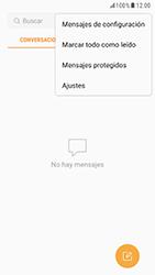 Samsung Galaxy S6 - Android Nougat - Mensajería - Configurar el equipo para mensajes de texto - Paso 5