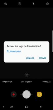 Samsung Galaxy Note 8 - Photos, vidéos, musique - Créer une vidéo - Étape 6