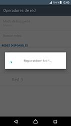 Sony Xperia XZ - Android Nougat - Red - Seleccionar una red - Paso 11