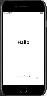 Apple iphone-6-met-ios-11-model-a1586 - Instellingen aanpassen - Hoe gebruik ik de Automatisch inloggen-optie - Stap 3