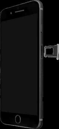 Apple iPhone 8 Plus - Premiers pas - Insérer la carte SIM - Étape 3