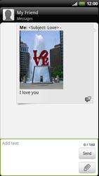 HTC Z710e Sensation - Mms - Sending a picture message - Step 12
