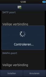 Samsung S8600 Wave 3 - E-mail - e-mail instellen: IMAP (aanbevolen) - Stap 11