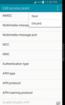 Samsung N915FY Galaxy Note Edge - Internet - Manual configuration - Step 15