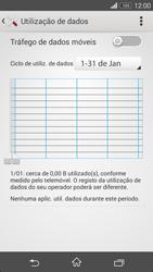 Sony Xperia M2 - Internet no telemóvel - Como ativar os dados móveis -  5