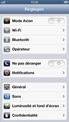 Apple iPhone 5 - Réseau - utilisation à l'étranger - Étape 6