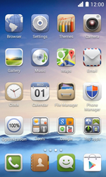 Huawei Ascend Y330 - Voicemail - Manual configuration - Step 3