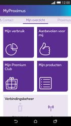 HTC One M8 - Applicaties - MyProximus - Stap 14