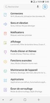 Samsung Galaxy J6 - Internet et connexion - Désactiver la connexion Internet - Étape 4