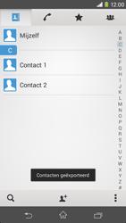 Sony Xperia M2 4G (D2303) - Contacten en data - Contacten kopiëren van toestel naar SIM - Stap 10