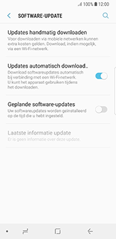 Samsung Galaxy S8 - Android Oreo - Toestel - Software update - Stap 6