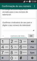 Samsung Galaxy Core II - Aplicações - Como configurar o WhatsApp -  6
