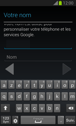 Samsung S7390 Galaxy Trend Lite - Applications - Créer un compte - Étape 6