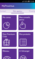 Samsung Galaxy Xcover 3 VE - Applications - MyProximus - Étape 13