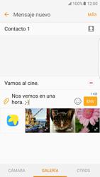 Samsung Galaxy S7 Edge - Mensajería - Escribir y enviar un mensaje multimedia - Paso 18