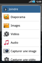 Samsung S5660 Galaxy Gio - MMS - envoi d'images - Étape 7
