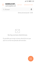 Samsung Galaxy S6 - Android Nougat - E-mail - Configurar Yahoo! - Paso 4