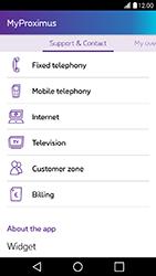LG X Power - Applications - MyProximus - Step 19