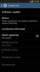 Samsung G386F Galaxy Core LTE - Software updaten - Update installeren - Stap 6