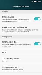 Huawei Y5 - Red - Seleccionar el tipo de red - Paso 7