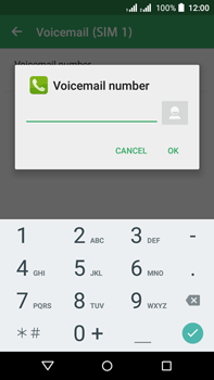 Acer Liquid Z630 - Voicemail - Manual configuration - Step 10