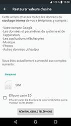 BlackBerry DTEK 50 - Device maintenance - Retour aux réglages usine - Étape 7
