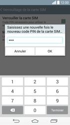 LG D855 G3 - Sécuriser votre mobile - Personnaliser le code PIN de votre carte SIM - Étape 13