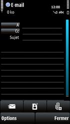 Nokia X6-00 - E-mail - envoyer un e-mail - Étape 6