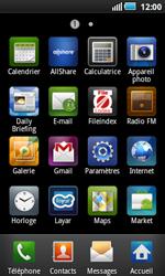 Samsung I5800 Galaxy Apollo - E-mail - Configuration manuelle - Étape 3