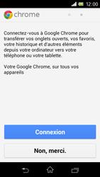 Sony C1905 Xperia M - Internet - navigation sur Internet - Étape 4