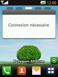 LG T580 - E-mails - Ajouter ou modifier un compte e-mail - Étape 1