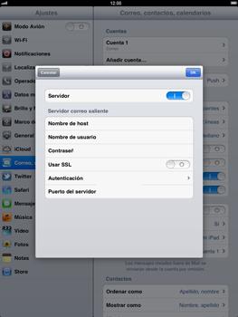 Apple iPad 2 - E-mail - Configurar correo electrónico - Paso 17