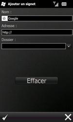 Samsung B7610 Omnia Qwerty - Internet - navigation sur Internet - Étape 6