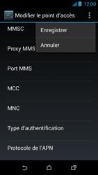HTC Desire 310 - MMS - Configuration manuelle - Étape 15