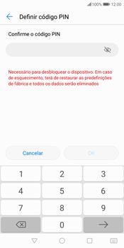 Huawei P Smart - Segurança - Como ativar o código de bloqueio do ecrã -  10