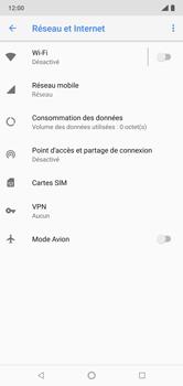 Nokia 7.1 - Internet et connexion - Désactiver la connexion Internet - Étape 5
