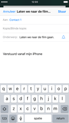 Apple iPhone 6s iOS 10 - E-mail - Hoe te versturen - Stap 7